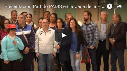 Presentación #PartidoPADIS en la Casa de la Provincia (incluye valoraciones de jugadores)