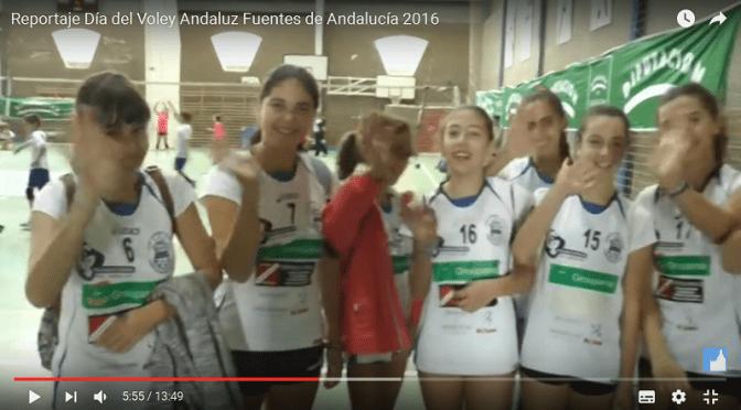 (vídeo) Reportaje Día del Voley Andaluz Fuentes de Andalucía 2016