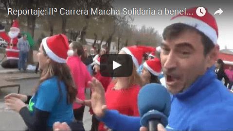 (VÍDEO) Reportaje: IIª Carrera Marcha Solidaria a beneficio de PADIS 2016
