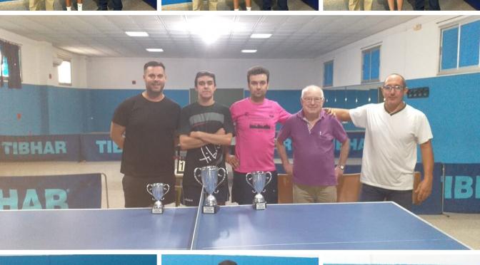 Buena participación en el Torneo de Tenis de Mesa de Verano 2019 (galería gráfica)