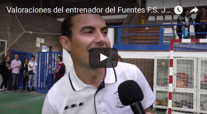 Valoraciones del entrenador del Fuentes F.S. Juvenil, Isi, tras lograr el ascenso (2016/17) (vídeo)