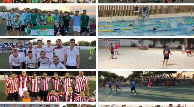 La actividad deportiva continua en Fuentes más allá de la Feria (galería gráfica)