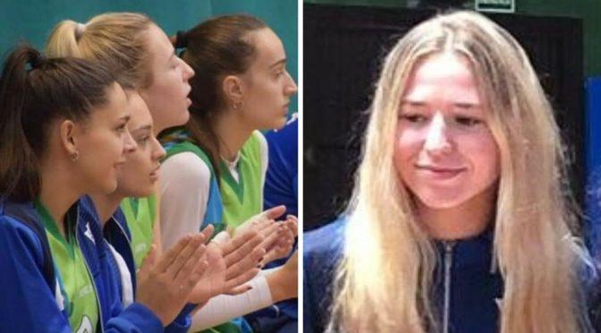 Ana Caro, Miriam Díaz y Paola Rodríguez, y Ana Guitard, campeonas de Andalucía con la selección sevillana. A. Guitard nombrada MVP del torneo