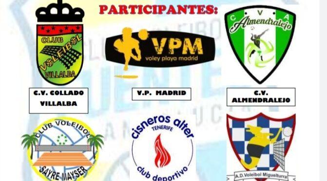 Cuadro de rivales a los que se medirá Café Legado Voleibol Fuentes Guadaira Club Voleibol Fuentes de Andalucía en la lucha por el ascenso a categoría nacional