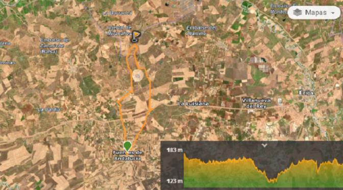Ruta Cicloturista 'Tod@s a Pedale@ar' (info y mapa)