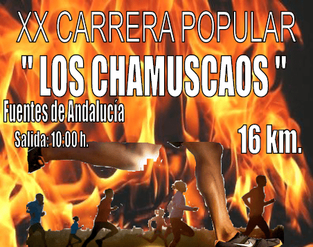 XXº Carrera Popular de Los Chamuscaos (info e inscripción)
