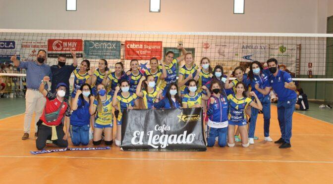 Cafés Legado Fuentes Guadaira sénir femenino se proclama campeón de Andalucía y luchará por una plaza de ascenso a Liga Nacional (galería gráfica, vídeos del partido y reportaje con valoraciones)