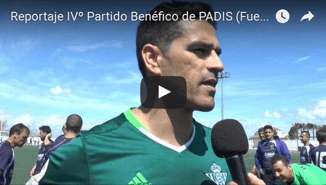 Reportaje IVº Partido Benéfico PADIS (vídeo)