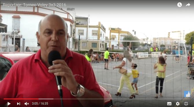 (vídeo) Reportaje: Torneo Voley 3×3 2016