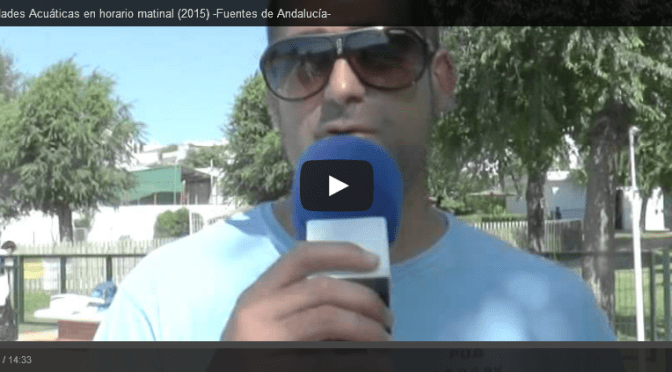 (VÍDEO) Reportaje Actividades Acuáticas horario matinal (2015)