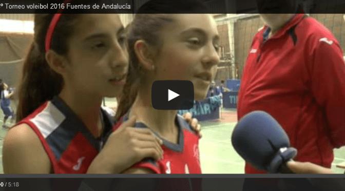 (vídeo) Reportaje del 35º Torneo voleibol 2016 Fuentes de Andalucía