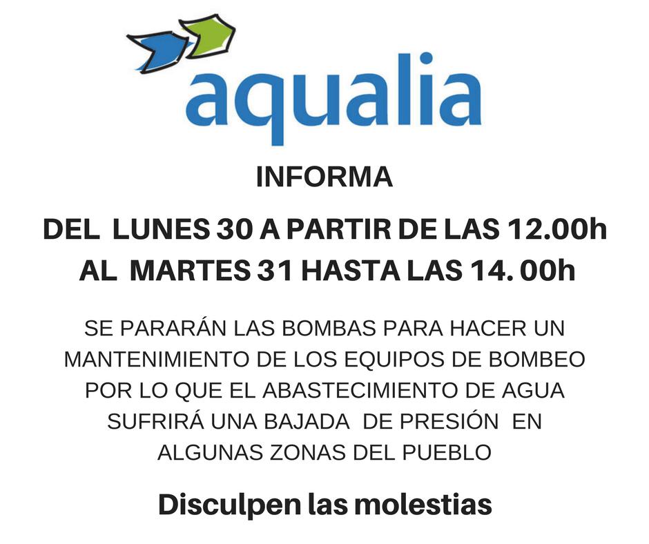 Bajada presi n agua ayuntamiento de fuentes de andaluc a - Oficina virtual inem ...