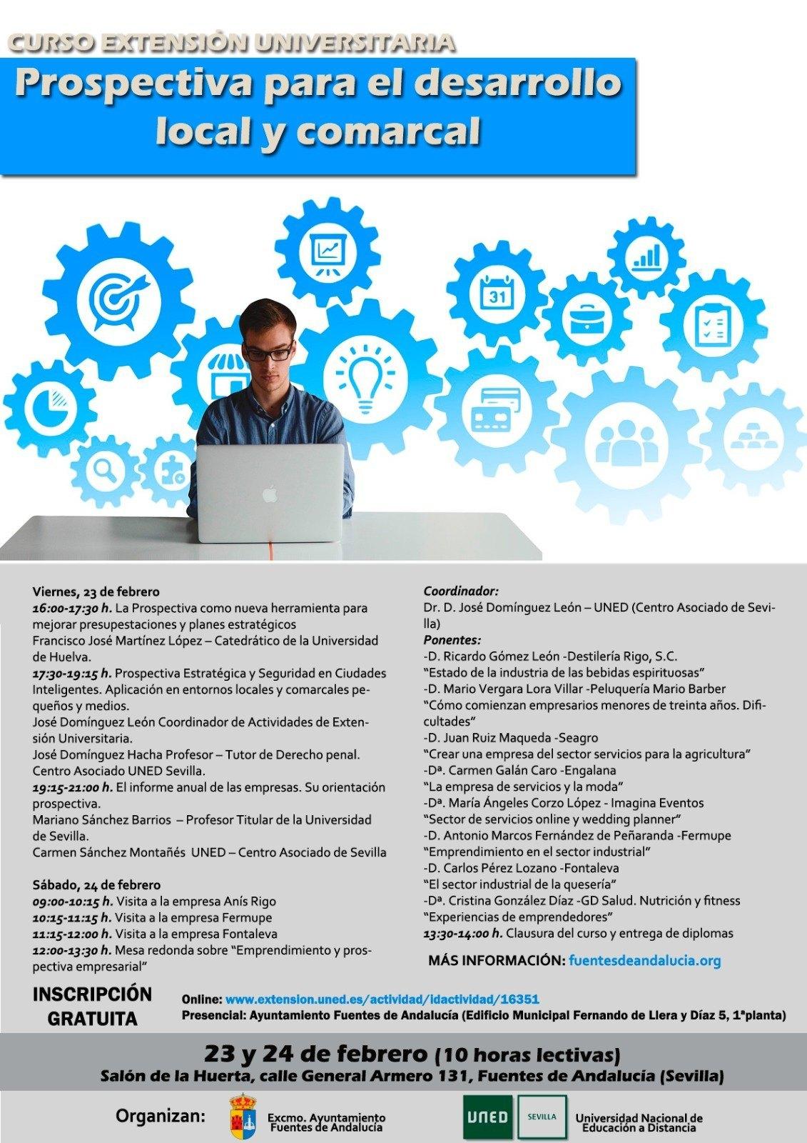 Hoy comienza el curso prospectiva para el desarrollo - Oficina virtual inem ...