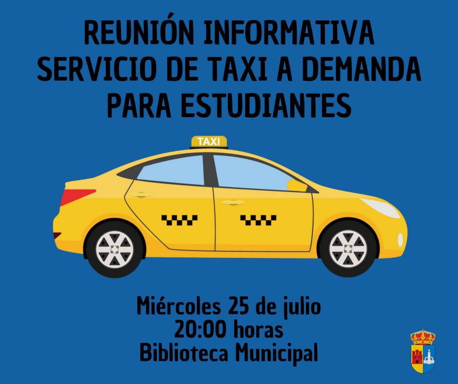 Reuni n informativa para el servicio de taxi a demanda for Inem horario oficinas